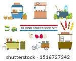 Filipino Street Food Carts And...