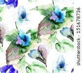 watercolor illustration of... | Shutterstock . vector #151678736