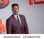 """Small photo of Nate Parker walks the red carpet ahead of the """"American Skin"""" screening during the 76th Venice Film Festival at Sala Giardino on September 01, 2019 in Venice, Italy."""