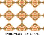 ottoman style wallpaper pattern ... | Shutterstock .eps vector #15168778