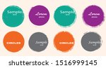 grunge post stamps collection ... | Shutterstock .eps vector #1516999145