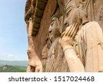Huge Clay Amitabha Buddha And...