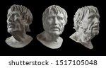 Three Gypsum Copy Of Ancient...