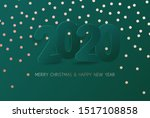 merry christmas and new year... | Shutterstock .eps vector #1517108858