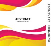 elegant wave presentation... | Shutterstock .eps vector #1517278085