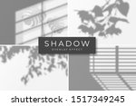 set of shadow overlay effects.... | Shutterstock .eps vector #1517349245
