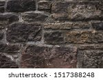 Old Castle Stone Wall Texture....