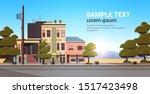 city building houses exterior... | Shutterstock .eps vector #1517423498