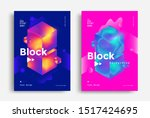creative design poster with... | Shutterstock .eps vector #1517424695