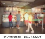 blurred image of people are... | Shutterstock . vector #1517452205