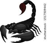 vector illustration of a black...   Shutterstock .eps vector #1517509442
