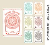 vintage labels | Shutterstock .eps vector #151752626