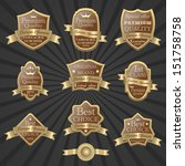 illustration of premium quality ... | Shutterstock . vector #151758758