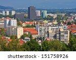 view of the ljubljana's... | Shutterstock . vector #151758926