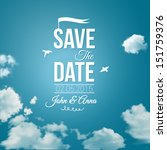 save the date for personal... | Shutterstock .eps vector #151759376