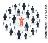 social media marketing | Shutterstock .eps vector #151766555