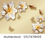 Beautiful Flowers White With...