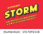 flat extra bold bubble comical...   Shutterstock .eps vector #1517692118