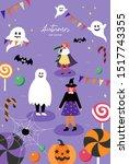 autumn festival. poster...   Shutterstock .eps vector #1517743355
