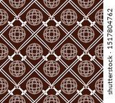 seamless vector pattern of... | Shutterstock .eps vector #1517804762