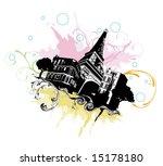 illustration of the eiffel tower | Shutterstock .eps vector #15178180