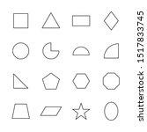 Vector Geometric Shape Design...
