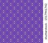 geometric dotted vector violett ... | Shutterstock .eps vector #1517941742