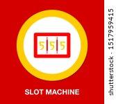 slot machine   vector casino... | Shutterstock .eps vector #1517959415