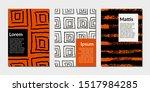 modern abstract design...   Shutterstock .eps vector #1517984285
