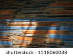 Sunlight On Earthy Colours Of...
