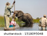 Exiting The Okavango Delta In...