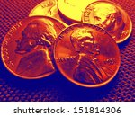 us coins collection | Shutterstock . vector #151814306