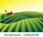 farm | Shutterstock .eps vector #151823138
