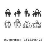 family icon design template... | Shutterstock .eps vector #1518246428