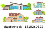 houses  mansions and... | Shutterstock .eps vector #1518260522