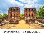 Royal Palace at Polonnaruwa Ancient city, Sri Lanka