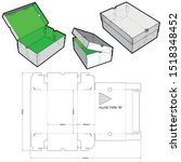Shoes Cardboard Box  Internal...