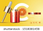 hydrating facial serum for...   Shutterstock .eps vector #1518381458