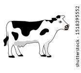 Cow Realistic Farm Animal...