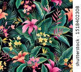 Seamless Floral Pattern ...