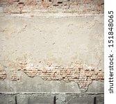 urban background grunge wall... | Shutterstock . vector #151848065