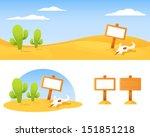 cute cartoon landscape  ...   Shutterstock .eps vector #151851218