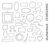 vector hand drawn illustration... | Shutterstock .eps vector #1518523442