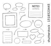 vector hand drawn illustration... | Shutterstock .eps vector #1518523445