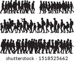 group of people. crowd of... | Shutterstock .eps vector #1518525662
