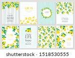 set of vector banner... | Shutterstock .eps vector #1518530555