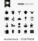 modern food restaurant menu... | Shutterstock .eps vector #151870658