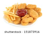 Fried Chicken Nuggets With...