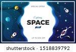 space exploration modern... | Shutterstock .eps vector #1518839792