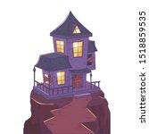 trick or treat   happy halloween | Shutterstock .eps vector #1518859535